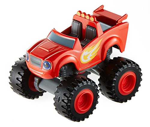 Fisher-Price Nickelodeon Blaze & the Monster Machines, Blaze Vehicle - Juguetes Fisher Price
