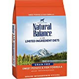 Natural Balance L.I.D. Limited Ingredient Diets Dry Dog Food, Grain Free, Sweet Potato & Fish Formula, 13-Pound