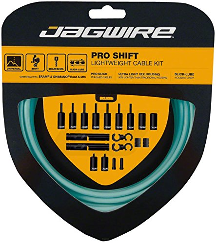 Jagwire Pro Shift Cable Kit Bianchi Celeste, One Size by Jagwire