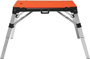 Disston 30140 4 in 1 Portable Workbench, Orange