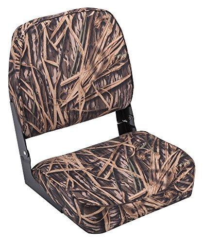 Wise Low Back Boat Seat, Mossy Oak Shadowgrass Camo ()