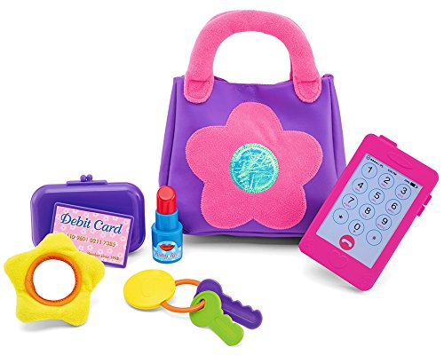 Kidoozie My First Purse, Fun and Educational, For Toddlers and Preschoolers, Encourages Safe Play (Play Purse)