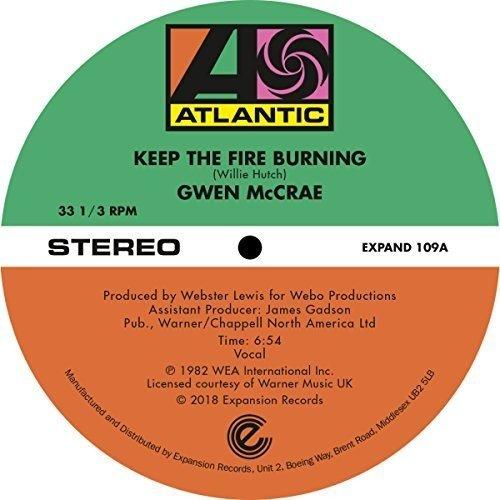 Vinilo : Gwen McCrae - Keep The Fire Burning / Funky Sensation (United Kingdom - Import)