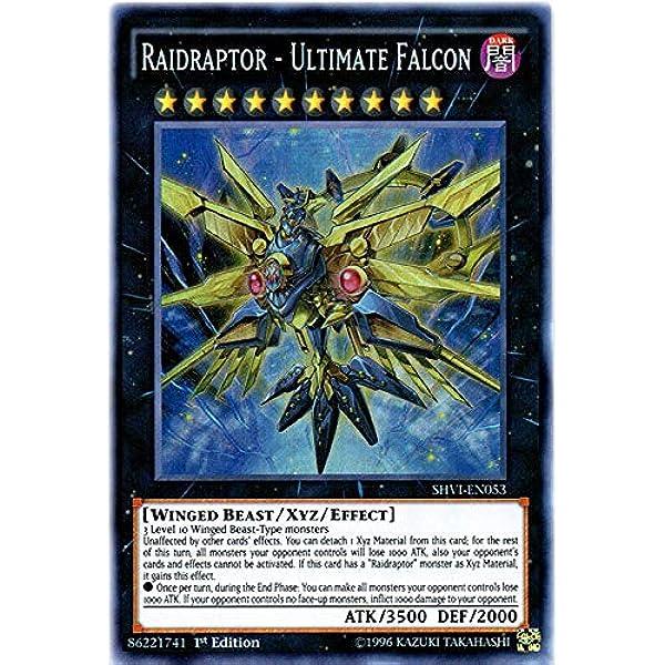Raidraptor - Super Rare Ultimate Falcon SHVI-EN053 1st Edition