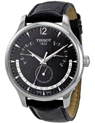 (奇葩)Tissot天梭 T063.637.16.057.00 三飞返指针瑞士制造男士腕表 仅售 $305.5