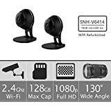 Samsung SNH-V6414BMR SmartCam HD Full HD 1080p Wi-Fi Camera Bundle Double Pack, Black (Certified Refurbished)