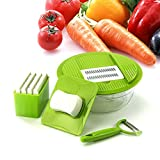 LoLa Ling Vegetable Slicer bowl Stainless Steel Cutting Vegetable Grater Creative Kitchen Gadget Carrot Potato cutter