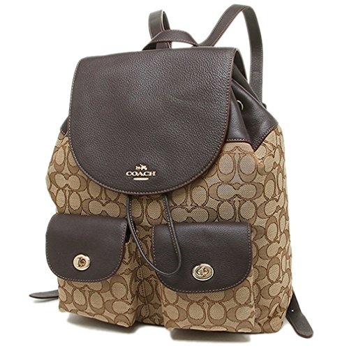 Coach Billie Backpack In Outline Signature