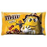 M&M's Peanut Chocolate Candy Fall Harvest Blend, 11.4 Ounce Bag (Pack of 24)