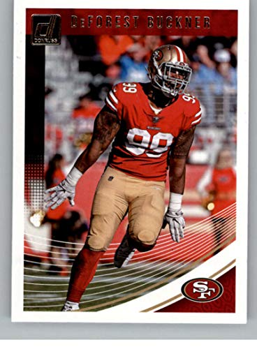 84096c5c2 Amazon.com  2018 Donruss Football  256 DeForest Buckner San Francisco 49ers  Official NFL Trading Card  Collectibles   Fine Art