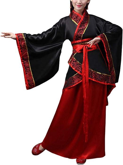 uirend Disfraces Accesorios Ropa Mujer - Traje de Novia Chino Antiguo Traje Tang Tradicional Nacional Hanfu Cosplay Actuaciones Ropa de Baile: Amazon.es: Productos para mascotas