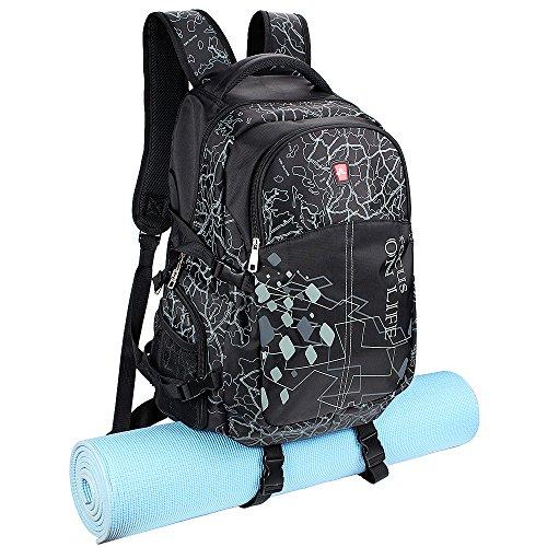 Yoga Mat Backpack Sports Gym Bag Multi Purpose Backpack