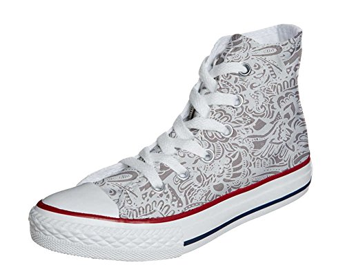 Converse All Star Customized - zapatos personalizados (Producto Artesano) Damask Paisley