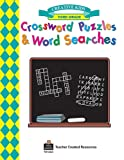 Crossword Puzzles and Word Searches, Grade 3, Dona Herweck Rice, 1576902633