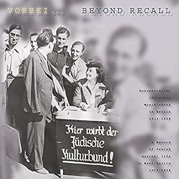 Various Artists Beyond Recall A Record of Jewish Musical Life
