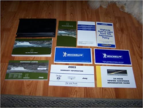 2003 jeep liberty limited edition owners manual pdf