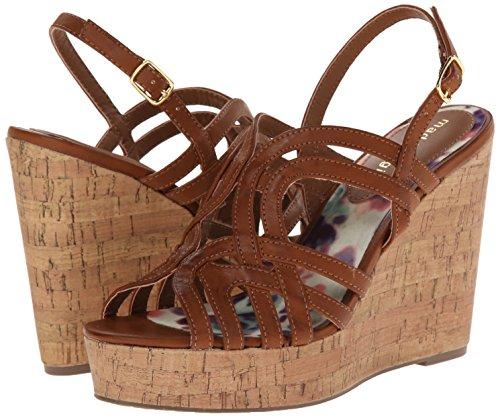 887865300243 - Madden Girl Women's Eliite Wedge Sandal, Cognac Paris, 10 M US carousel main 5