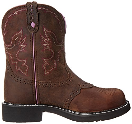 Justin Boots Women's Gypsy Collection 8'' Steel Toe,Aged Bark,5.5B by Justin Boots (Image #7)
