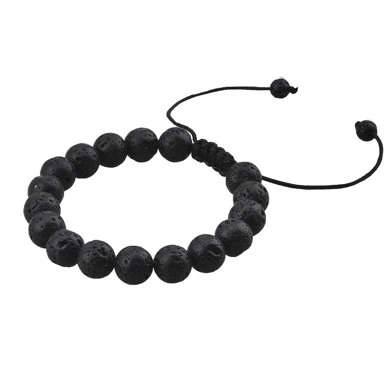 Chaka Lava Stone Bracelet Essential Oil for Women Men Spiritual