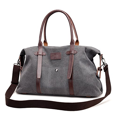 Gym Luggage Jxth For Large Shoulder Carry Multi Handbag Capacity Function On Canvas Wearable Women Water Men And resistant Overnight Travel Bag Holdall Luggage Casual Leisure Rtw1rx4qR