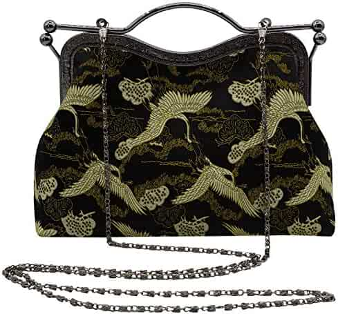 Lovful Women Embroidery Vintage Handmade Satchel Purse Handbag Tote  Crossbody Party Bag cea853b1277d