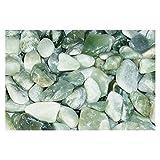 Exotic Pebbles PJ20-1030 20 lb Polished Jade Pebbles
