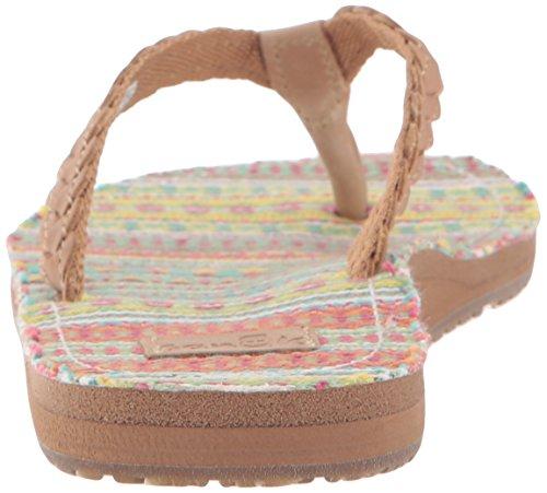 Sanuk Poncho Viva diseño de sandalias para mujer sand-citrus lanai blanket