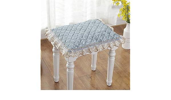 Cojines de encaje para silla de comedor con lazos de color sólido ...