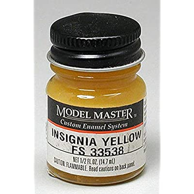 Insignia Yellow Enamel Paint .5 oz bottle FS 33538: Toys & Games