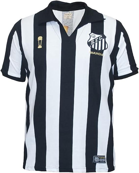 Camisa Santos Bi Mundial 62/63 Listrada Oficial