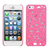 Cerhinu MYBAT IPHONE5HPCBK310NP Premium SuperThin Case for iPhone 5 / iPhone 5S - 1 Pack - Retail Packaging - Pink Bird's...