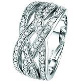 Pierre Cardin Damen-Ring Enlace Sterling-Silber 925