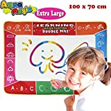 Toys for Girls 2-3 Year Old, Joy-Jam Aqua Magic Doodle Mat Large for Sketch Painting Drawing & Writing 100*73cm Boys Kids Water Doodle Pad Set, Boys Toys 3-4 Year Old with Doodle Board & 3 Magic Pens UK-SHB Large02