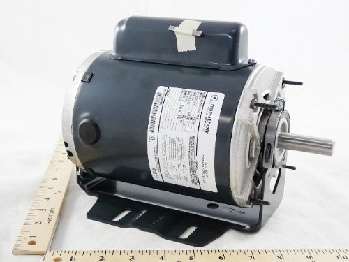 B319 Marathon Motor Blower Belted 3/4Hp 115/230 Volt Reversible 56 Frame 1725Rpm