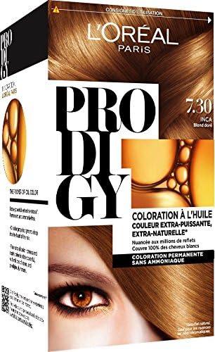 LOréal Paris Prodigy color permanente de la pintura de oro ...