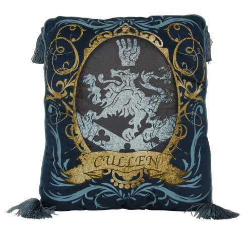 Twilight Cullen Crest Decorative Throw (Belle Crest)