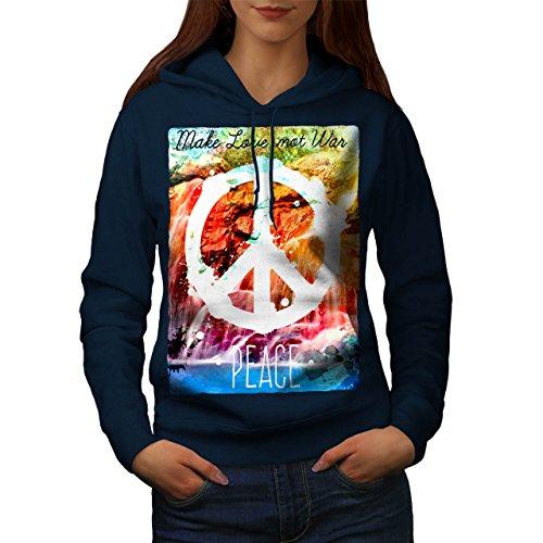 make love not war hoodie - 5