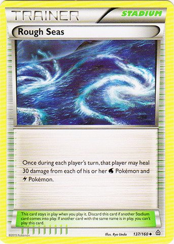 Pokemon - Rough Seas (137/160) - XY Primal Clash