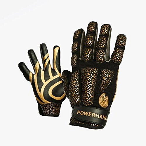 POWERHANDZ Weighted Training Gloves and Wristband - Skill Improvement aid for All Sports and Fitness - 7 Sport Designs (Youth, - Gloves Dribble