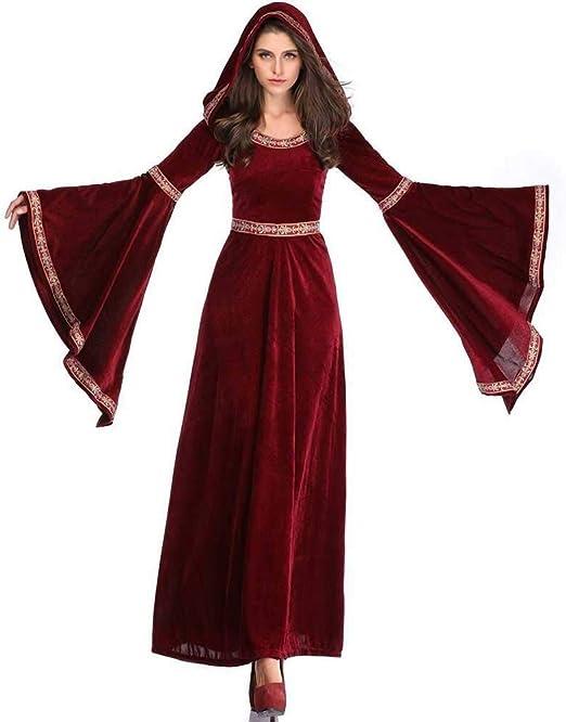 Hcxbb-b Traje de Mujeres de Halloween, la Bruja del Vampiro del ...