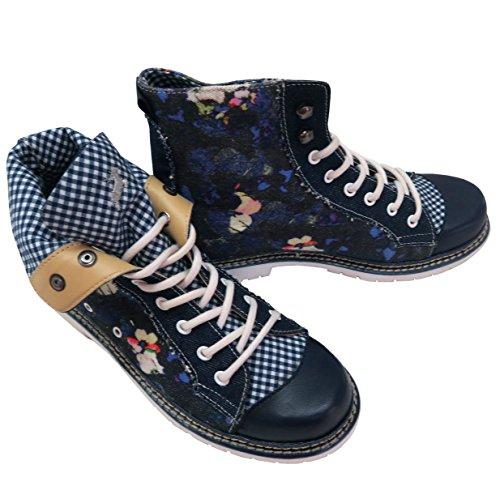 Jennifer à lacets Chaussures amp; femme Bleu Wensky blau Bleu Spieth wn7qfCpxw