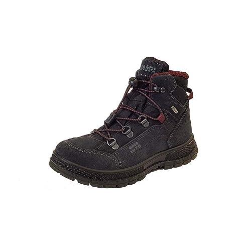 76f9d321663de Primigi PSCGT 23974 Black Suede Leather Waterproof Boys Boots ...