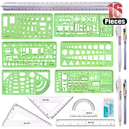 Hilitchi 16 Pcs Pack Plastic Mea...