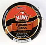 Kiwi Parade Gloss Premium Shoe Polish Paste, 1-1/8 oz, Black, 10-Pack