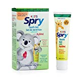 Spry Dispensing Pacifier and Xylitol Tooth Gel Kit, Original, 1 Count