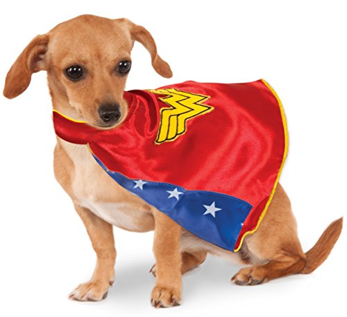 DC Comics Wonder Woman Pet Cape, X-Large -
