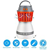 exmight Bug Zapper Mosquito Killer Lamp Rechargeable Camping Lamp Electronic Insect Killer Waterproof Indoor & Outdoors, Home & Traveling
