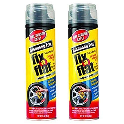 Fix-A-Flat Aerosol Tire Inflator with Hose for Standard Tires