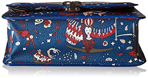 Piero body Di Blue Prussia Y5 Messenger blu Guidi Women's Cross Small Bag rnzCrqwXx