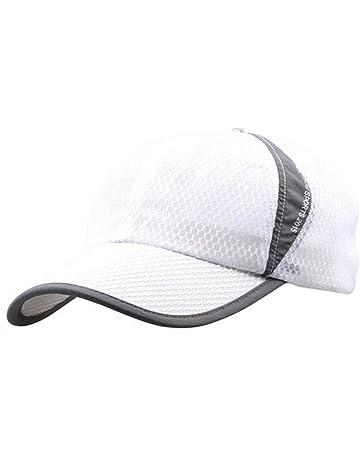 67b877cff3c Womens Mens Quick Drying Mesh Baseball Cap Summer Cool Breathable  Lightweight Anti UV Sun Protection Hat